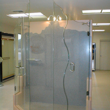 Custom-S-Curve-Shower-Door
