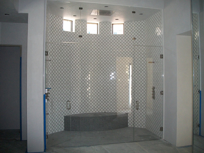 Cohaco building specialties featured projects for Build steam shower